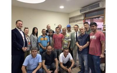 Cumhuriyet Kupası ardından yönetim Kurulu ve tüm çalışanlar bir arada