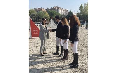 Milli sporcularımız Osman Şen, Oben Albayrak ve Ece Pamuk